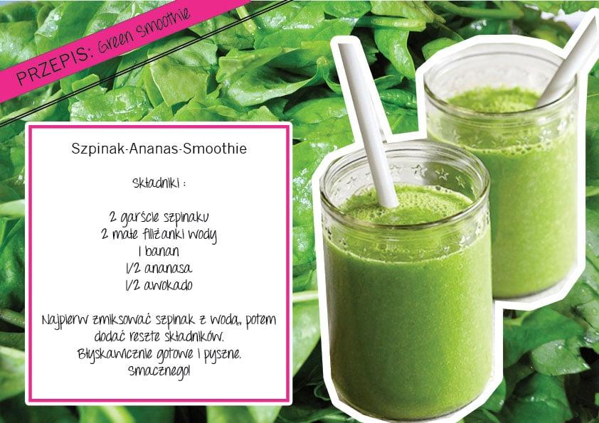 przepis na zielony smoothie