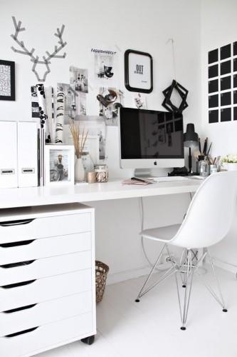 biały pokój inspiracje wystrój wnętrz