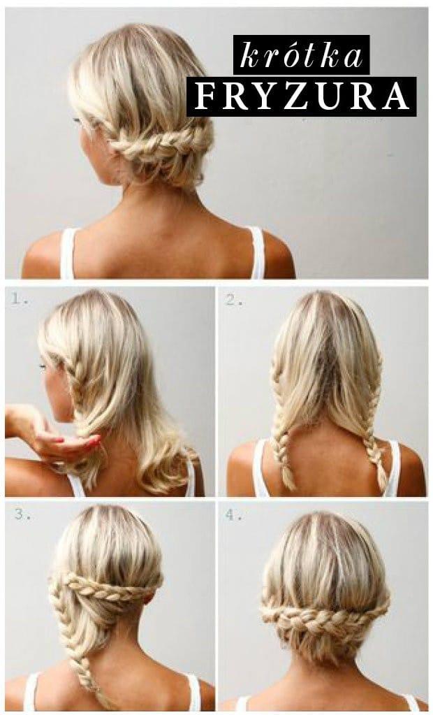 Fryzury krótkie włosy