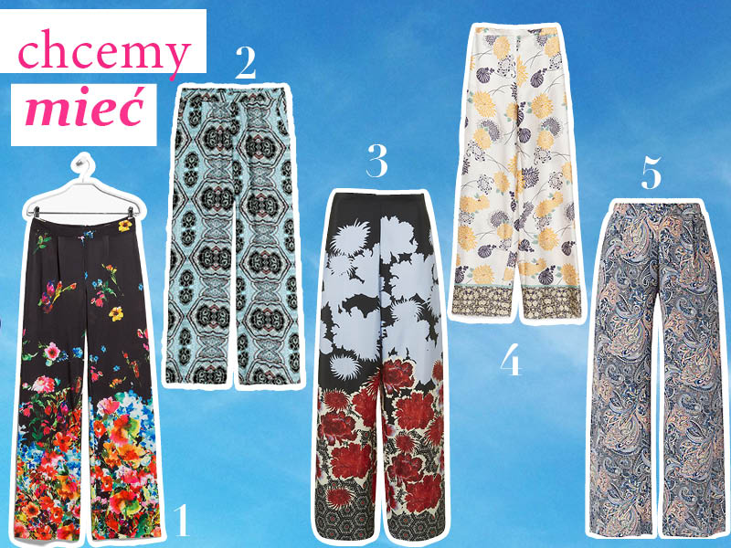 Trend-szerokie-spodnie-w-wzory-kwiaty-tematmoda