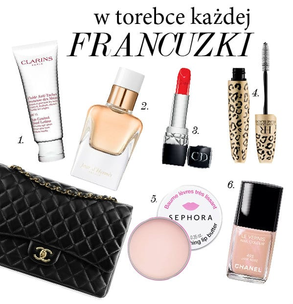 francuskie kosmetyki makijaż