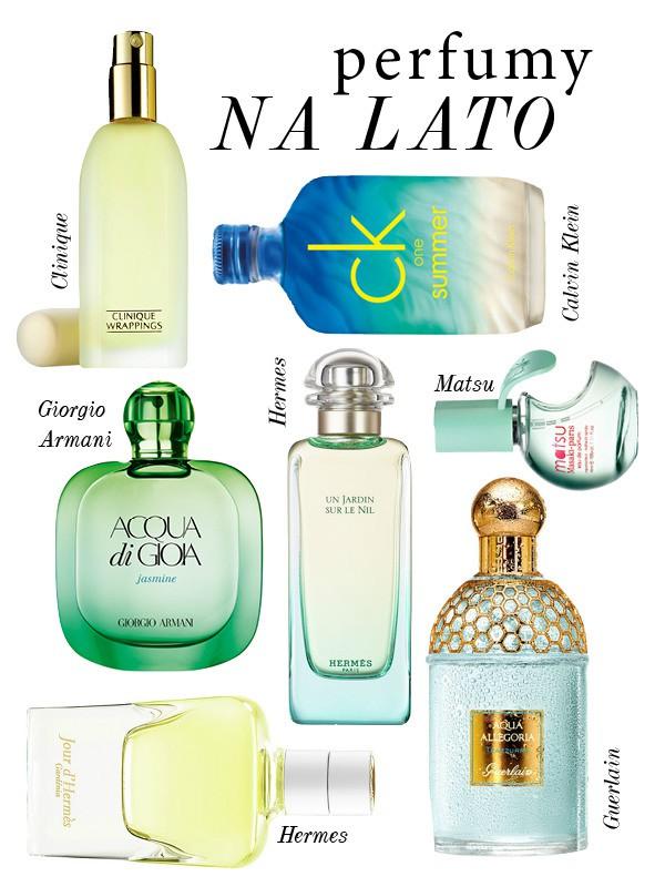 perfumy na lato 2015 2016 zapachy