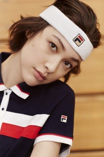Zdjęcie z kampanii Fila dla Urban Outfitters 2
