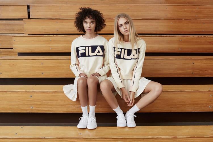 Zdjęcie z kampanii Fila dla Urban Outfitters 6