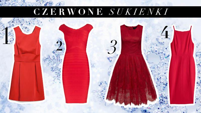 czerwone sukienki na wigilie - udany wybór