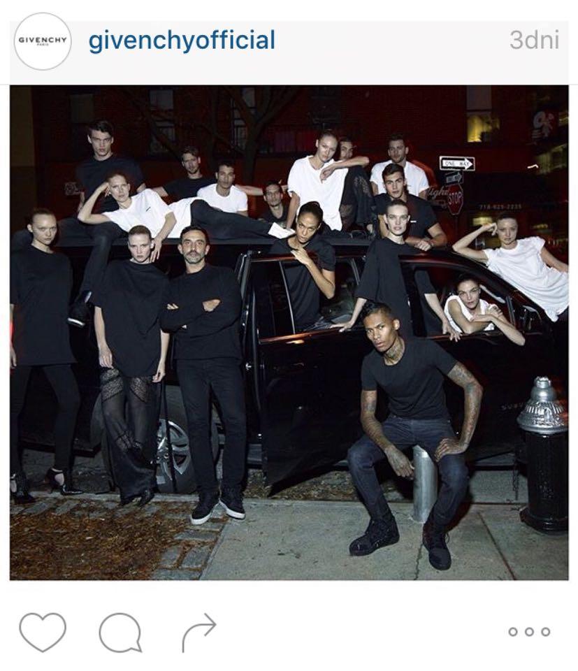 Największe gwiazdy modelingu w nowej kampanii Givenchy