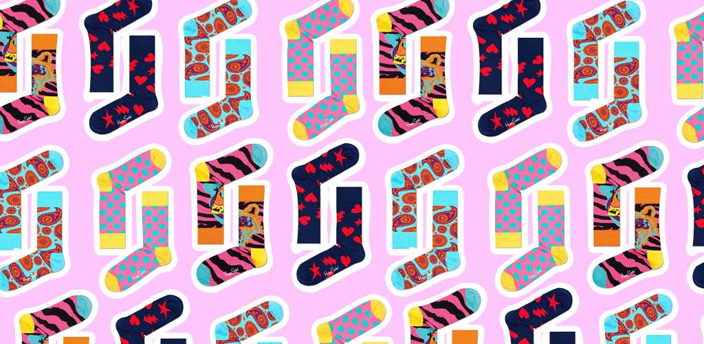 Kolorowe skarpetki