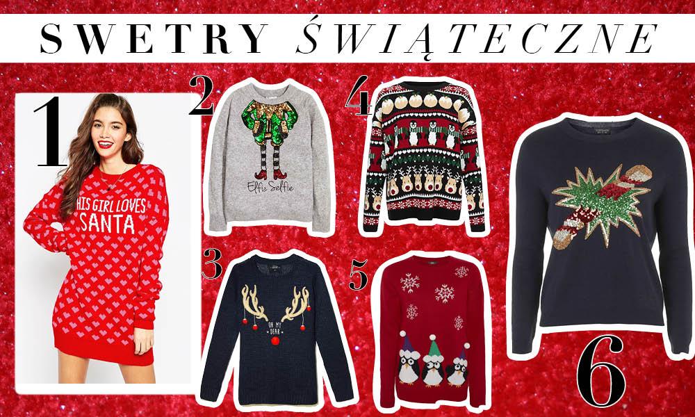 Świąteczne swetry - shopping