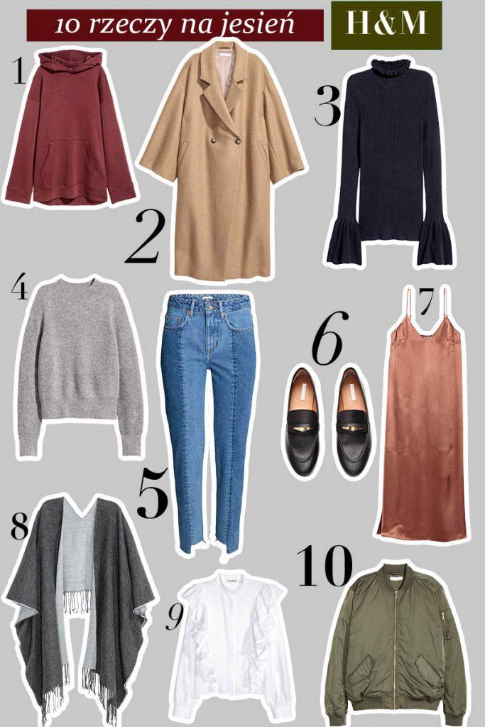 10 rzeczy na jesień z H&M