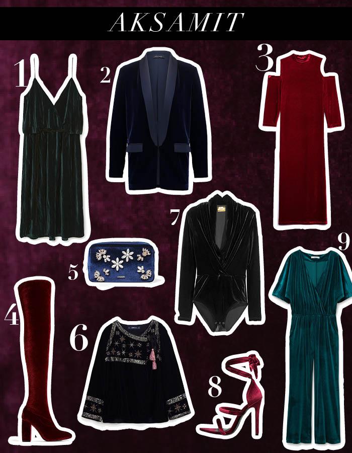 Aksamit – idealna tkanina na wieczór