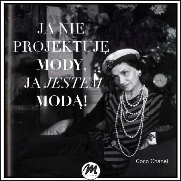 Coco Chanel cytaty o modzie