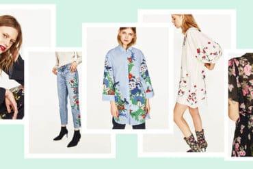 The new florals nowa kolekcja Zara
