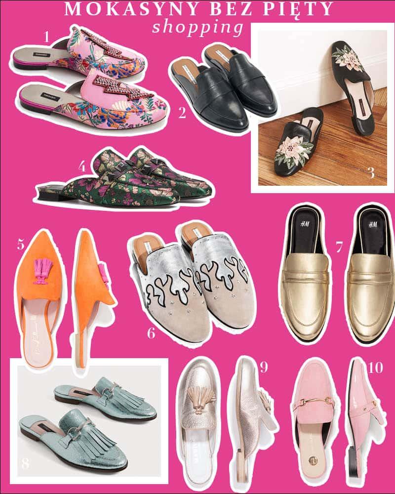 Mokasyny bez pięty – trend buty na wiosnę