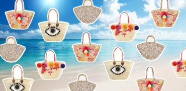 modna torba plazowa koszyka na plaze trend wakacje lato 2017