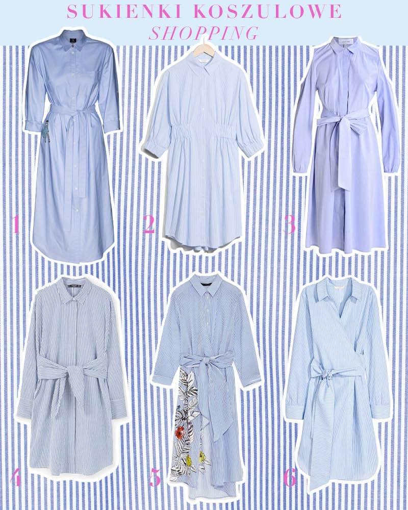 Sukienka koszulowa – hit na wiosnę/lato