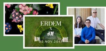 H&M X Erdem