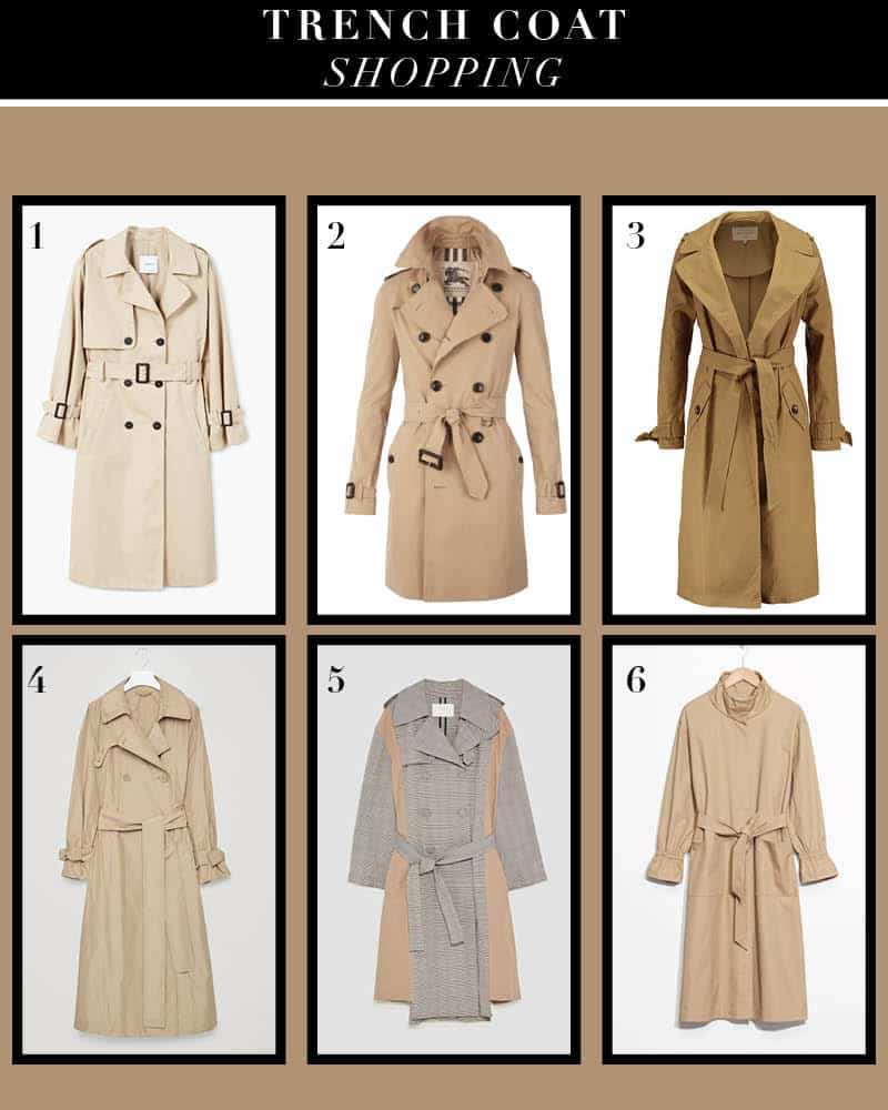 trench shopping 2017 jesien trend