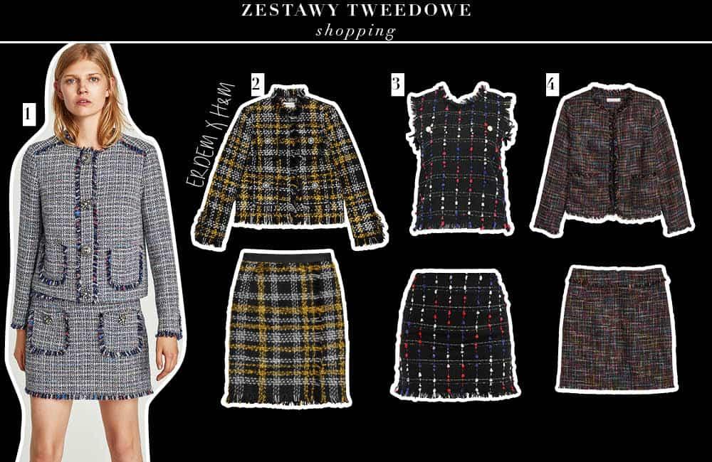 Kostium tweedowy – klasyk na zimę