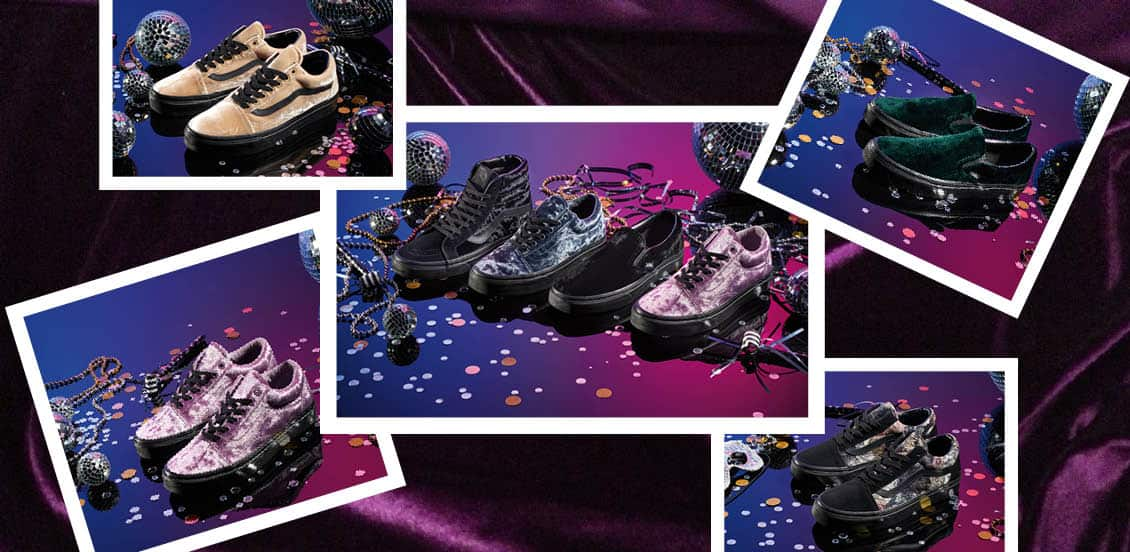 Karnawałowa kolekcja Vans - Luxe Velvet