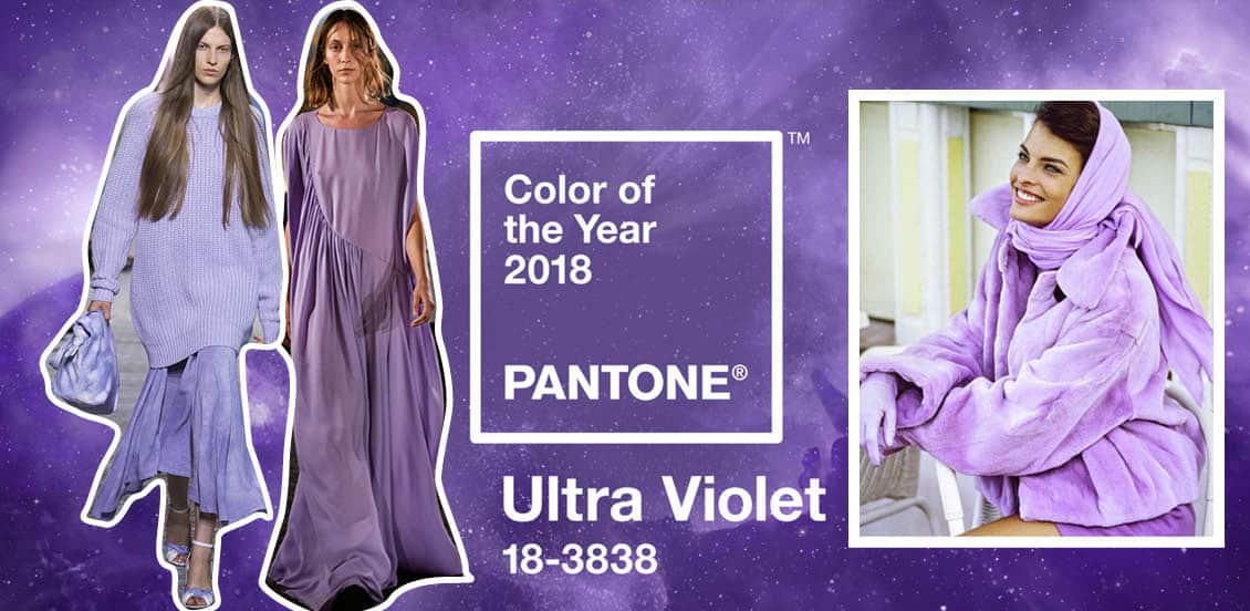 Ultra violet kolor roku 2018 trend moda