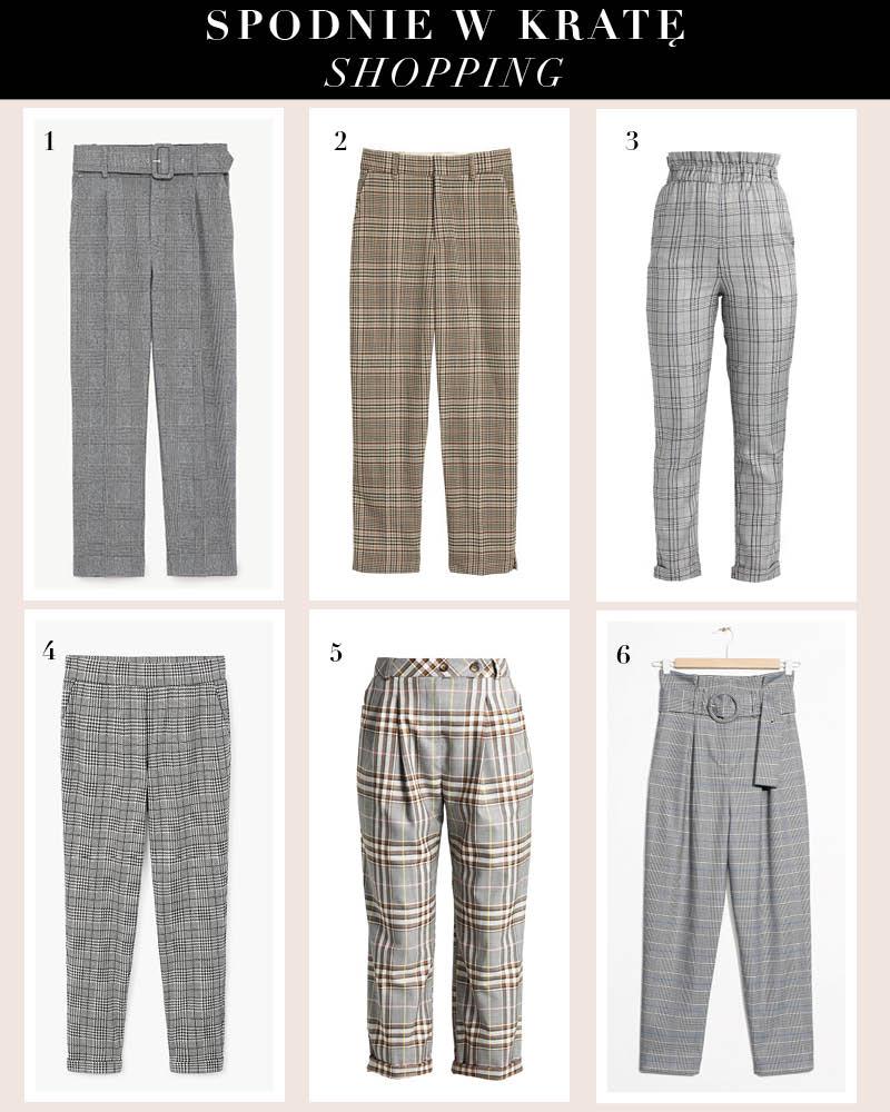 Spodnie w kratę – hit na teraz
