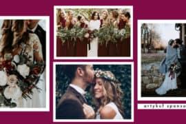 slub wesele panna mloda jesien